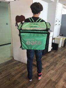 Uber Eats名古屋配達